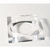 Ink + Alloy Lucite Square Bangle