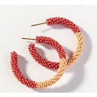 Color Block Small Hoop Earring