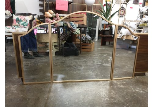 The Workroom Tri folding mirror