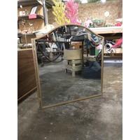 Tri folding mirror