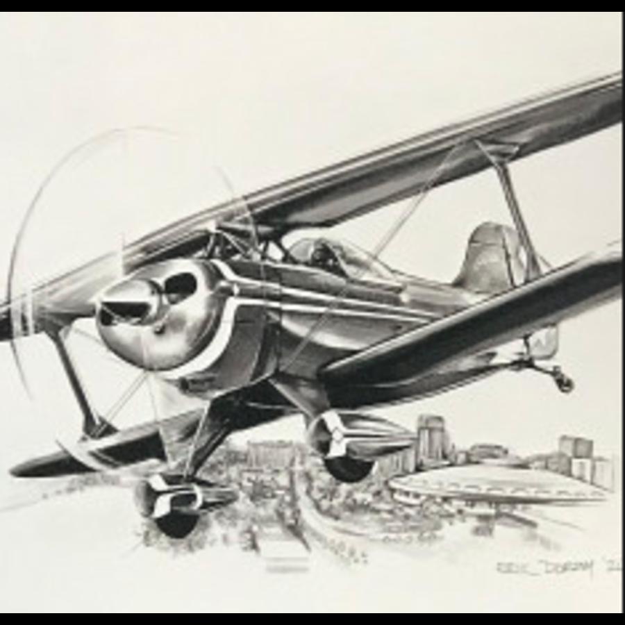 316 Design Co - Small Airplane Print