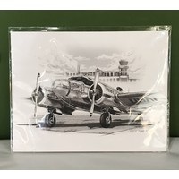 316 Design Co - Large Archival Airplane Print
