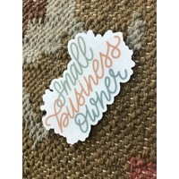 Made by Nat Small Business Owner Decal