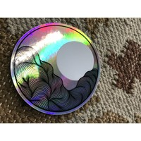 Made by Nat Holo Mountain Waves Decal