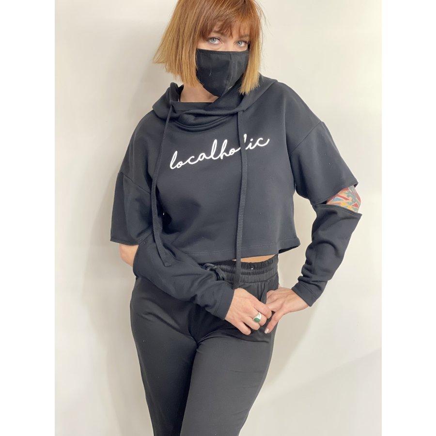 Localholic Cropped Sweatshirt