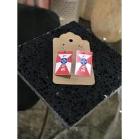Love ICT Flag Earrings