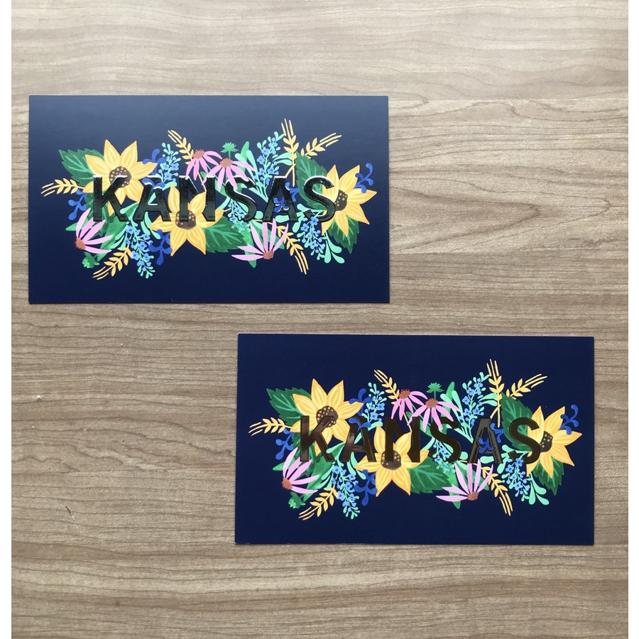 Elisabeth Owens Kansas Postcard