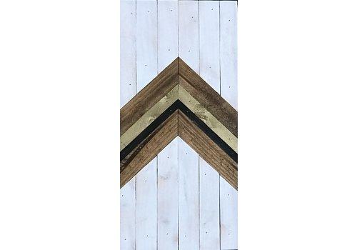 Glacier Wood Design Co Glacier Wood Design Co. White Arrow UP
