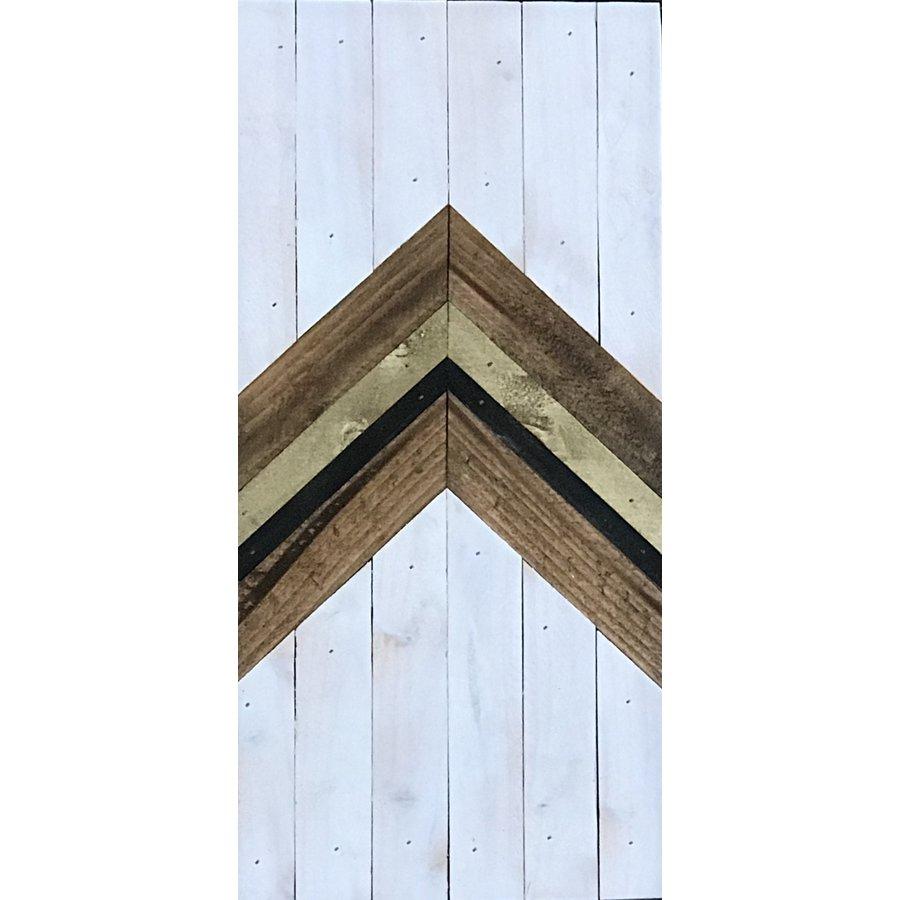 Glacier Wood Design Co. White Arrow UP