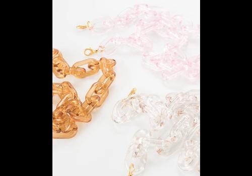 Violet & Brooks Lucite Mask Chain