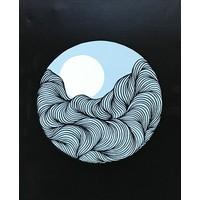 Circle Mountain Waves