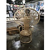 The Workroom Cabana Peacock Chair