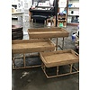 The Workroom Rattan Table