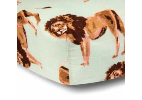 Milkbarn Fitted Bamboo Crib Sheet