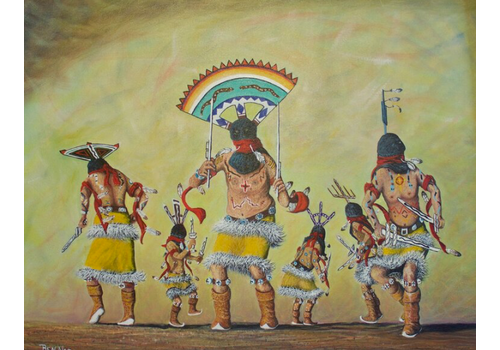 Nez Benson Apache Spirit Dancer