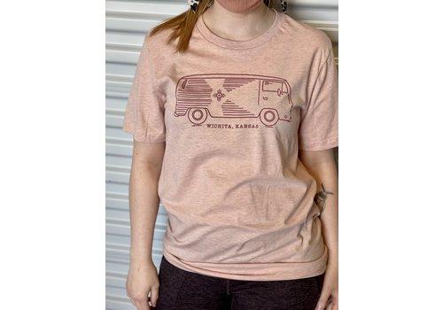 The Workroom VW Bus NEW Wichita KS T-Shirt