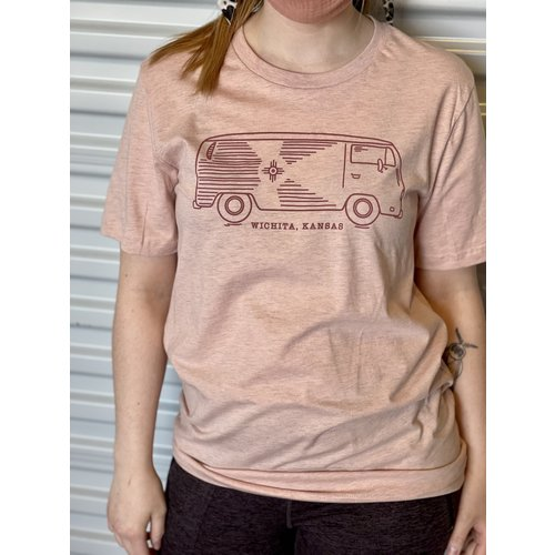 The Workroom VW Bus NEW Wichita KS T-Shirt