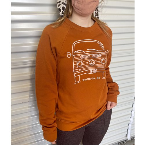 The Workroom VW Bus Wichita KS Sweatshirt