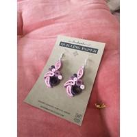 Handmade quilling paper- Pink, Purple, Black