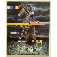 Theresa Wolff Horses Dancing at Night 1