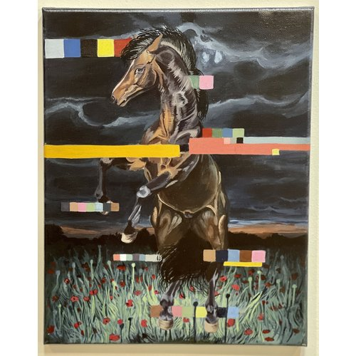 Theresa Wolff Theresa Wolff Horses Dancing at Night 1