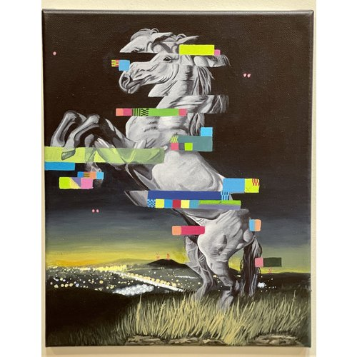 Theresa Wolff Theresa Wolff Horse Dancing at Night 2