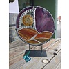 """Renee Harpenau Journey 15"""" Stained Glass w/ Stand"""