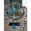 "Renee Harpenau Glory- 12"" Round Stained Glass w/ Stand"