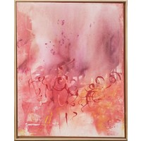 """Barbara Neiwald """"Tiny Bubble"""" Painting"""