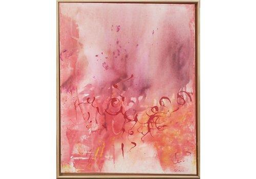 "Barbara Niewald Barbara Niewald ""Tiny Bubble"" Painting"
