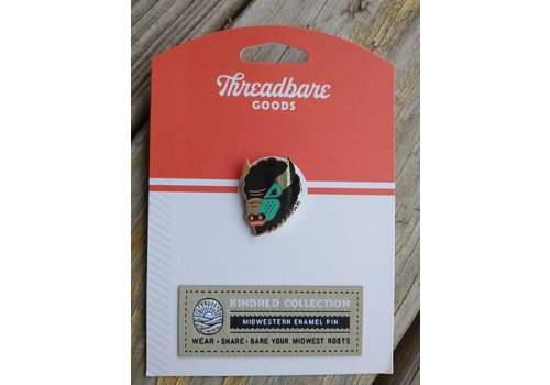 Threadbare Goods Threadbare Goods Bison Head Pin