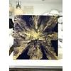 "Jessica Kilpatric: Dark Blue/Gold 24""x24"""