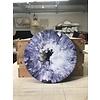 "Acrylic Creations By Jessica Kilpatric Jessica Kilpatric: Purple, White, and Tan 12"""