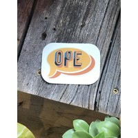 Geli Chavez Ope Decal