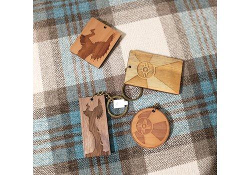 ICTMakers ICTMaker Wood Keychain