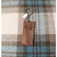 ICTMaker Wood Keychain