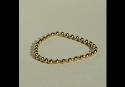 kozakh Beaded Soft Chain Ring