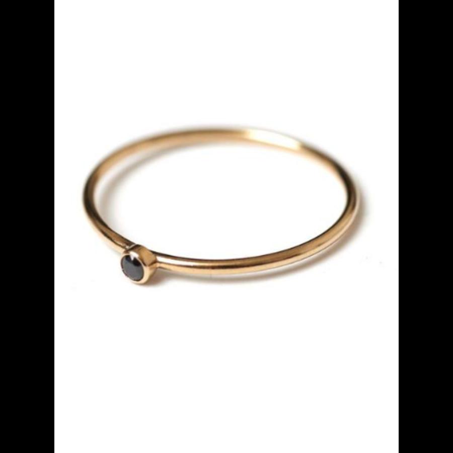 Dia Black Ring