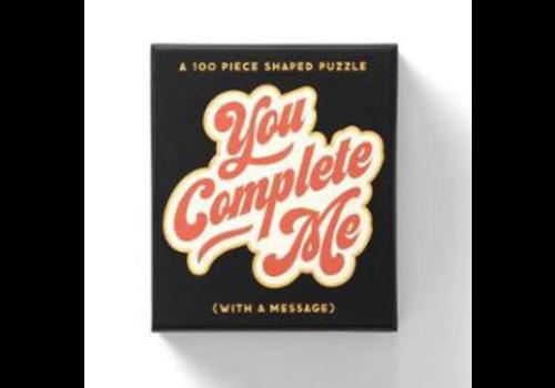 Brass Monkey You Complete Me 100 Piece Mini Puzzle