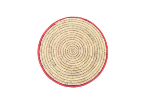 Creative Co-Op Round Hand-woven Grass and Date Leaf Placemat