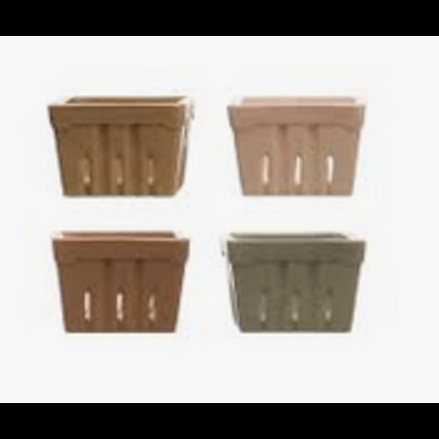 Square Stoneware Basket