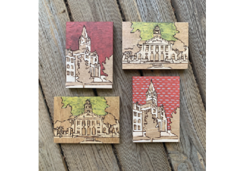 Lindsey Kernodle Woodburnings Mini University Woodburnings