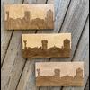 Lindsey Kernodle Woodburnings Two-tone Skyline