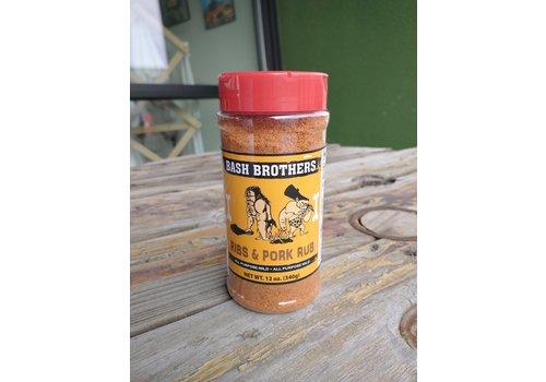Bash Brothers BBQ Ribs and Pork Rub