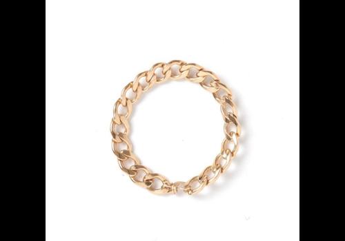 kozakh Kozakh Braided Chain Ring