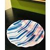 Cindy Raux Pink/White/Blue Bowl