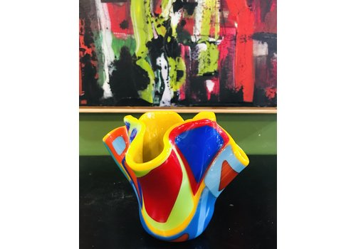 Cindy Raux Color Block Vase