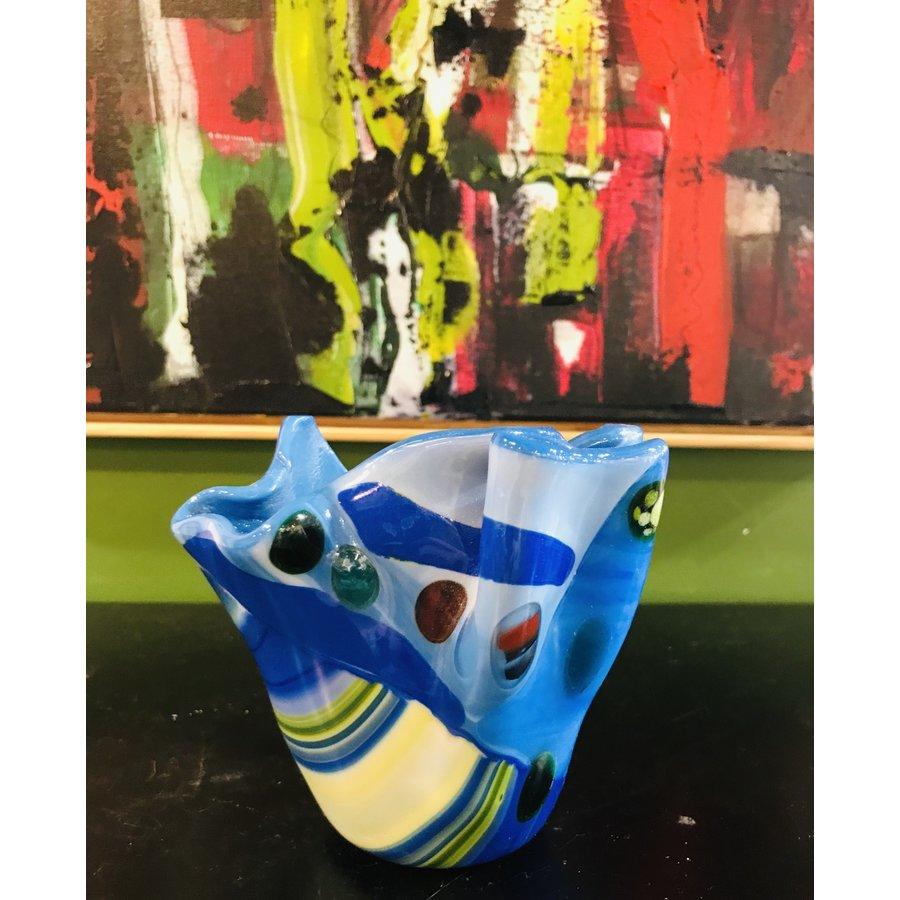 Multi-Blue Vase