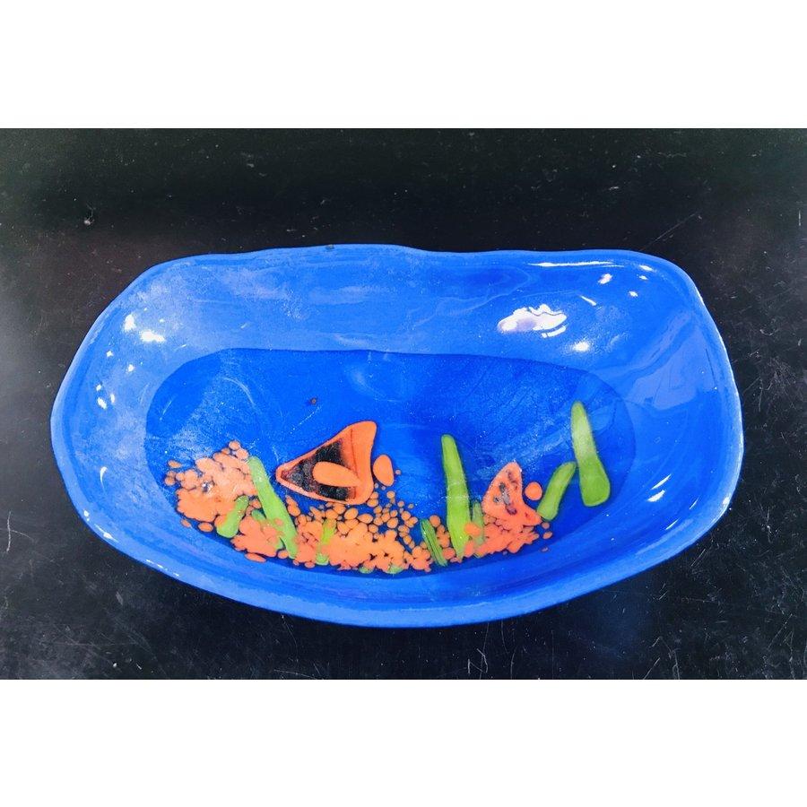 Blue Landscape Bowl
