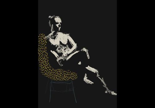 Geli Chavez Geli Chavez Nude Figure in Chair